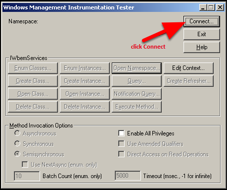 Using WBEMTEST for Advanced Troubleshooting