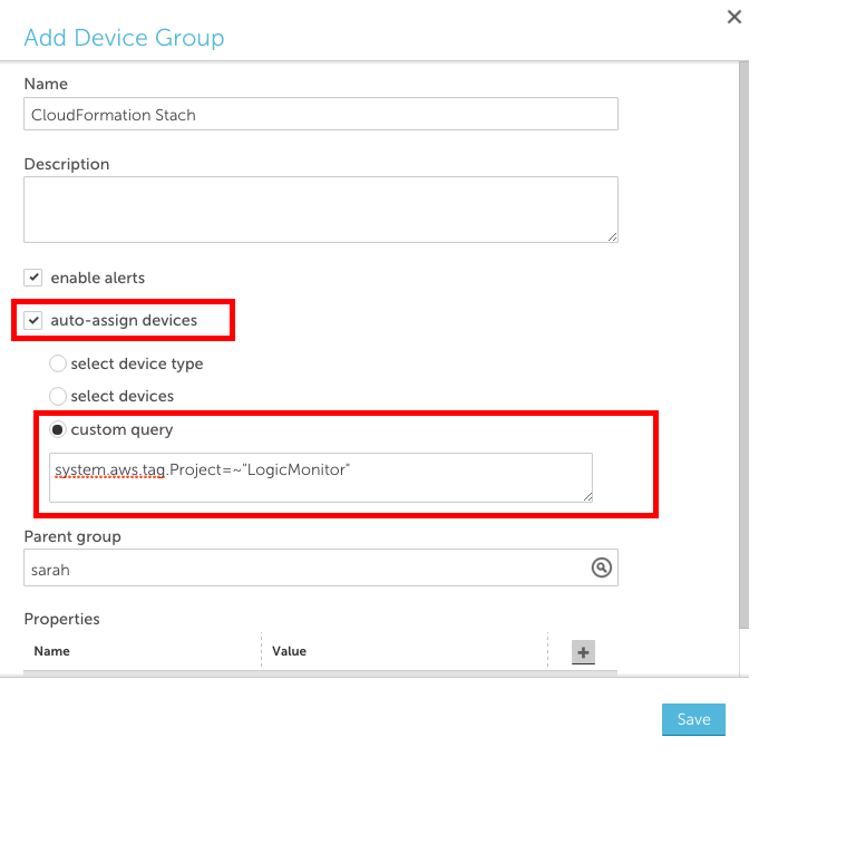 Create a dynamic group based on AWS tags