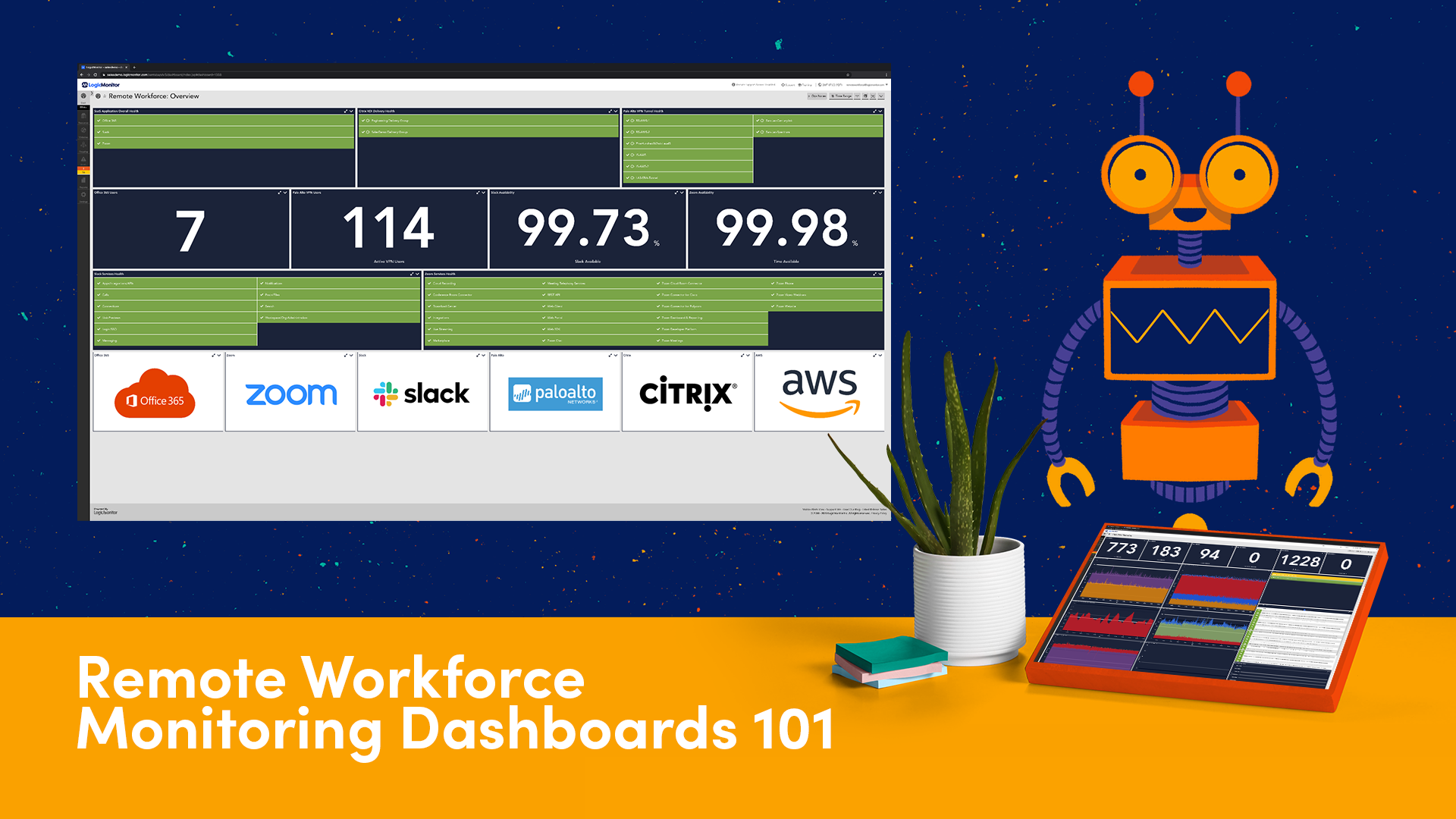 Remote Workforce Monitoring Dashboards 101